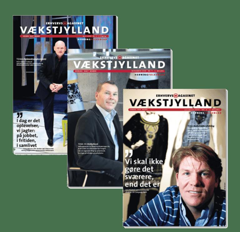 Vaekstjylland Annoncering Magasin