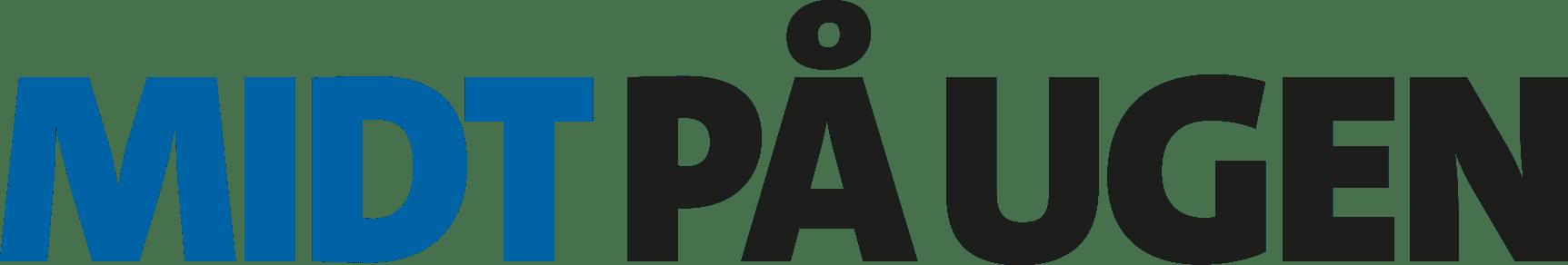 Midt Paa Ugen Logo 4f