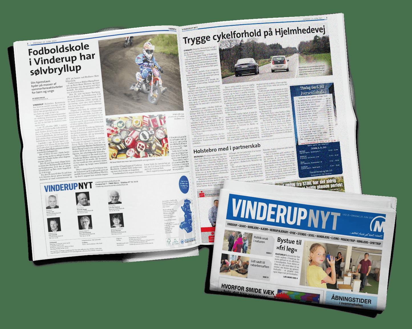 Vinderup Nyt Aviser